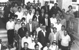 Egy csoportkép az 1975. évi debreceni kiállítás résztvevőiről.