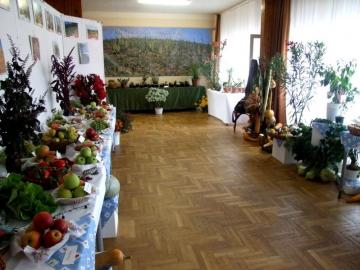 A Kertbarát Kör kiállítási részlete